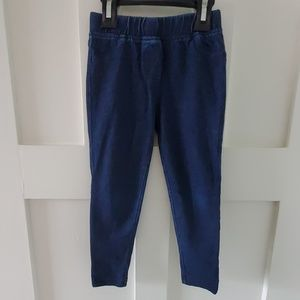 Girls Hanna Andersson jeggings size 100 4T